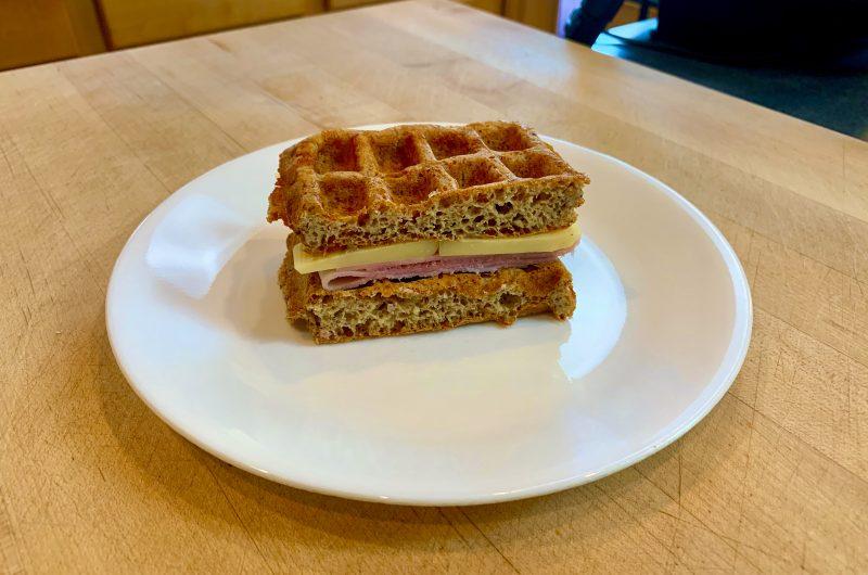 Rye Bread Chaffle