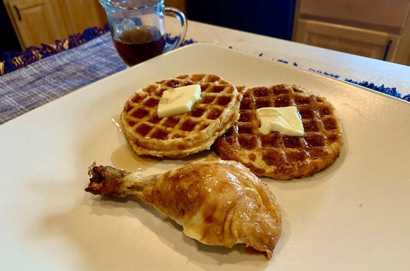 Chicken & Waffles Chaffle