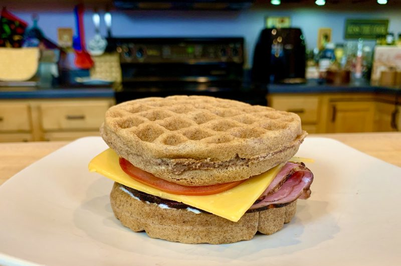 Brown Bread Chaffle